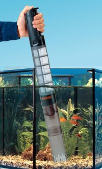 Aquarium Nitrates; Lowering Nitrate Levels, How to Control  Use a re-circulating micron cleaning filter so as to remove excess mulm/detritus from your aquarium without over cleaning (meaning excessive water changes over 50%) or in between regular water changes.