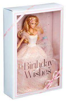 Amazon.com: Birthday Wishes Barbie Doll: Toys & Games