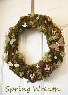 My mom would freak out about this wreath, but I'm not sure how I could ship it...Everyday Art: handmade