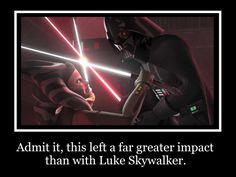 Vader Vs. Ahsoka Motivational by MetroXLR