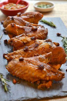 Herb Braised Turkey Wings