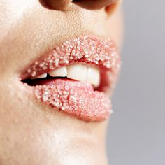 "Start by exfoliating with a one-to-one mixture of honey and sugar, to gently remove flakes and hydrate the skin. Then apply a moisturizing lip balm or an anti-aging eye cream to your lips, which will plump and hydrate the lips just as it does the eye area. Says Clark, ""Once that's dry, and you've applied your clear liner, use a sheer semi-gloss color all over."""