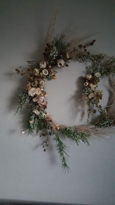 Dried Floral wreath - forever wreath