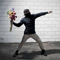 Fotospecial: Banksy in het echt