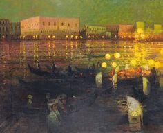 Abel Truchet (1857-1918) - le Pont des Doges
