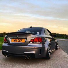 BMW E87 1M grey