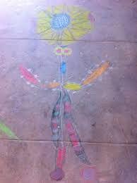 Bildergebnis für atelier dessin à la craie sur le sol