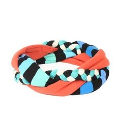Mia Headband Coral Blue, 29€,  by SAAKO !!
