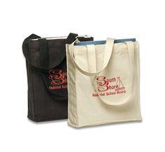 PP9235 Cotton Book Bag   PromoPays.ca - Custom Bags, Custom Tote Bags, Reusable Bags
