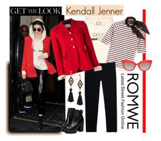 """""""Gucci Romwe & Kendall"""" by felicia-mcdonnell ❤ liked on Polyvore featuring Gucci and Valentino"""