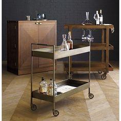 Maxine Bar Cabinet in Bar Cabinets & Bar Carts | Crate and Barrel