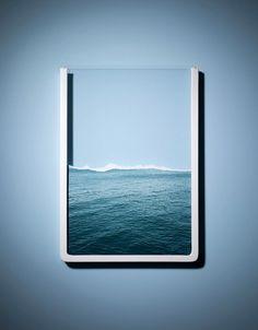 Un cadre photo de mer sur http://flepi.net