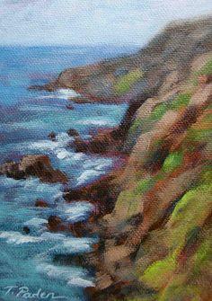 Theresa Paden - Cliffs at Big Sur