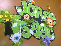 Nombres en foami de bebés - Imagui Baby Shower, Yoshi, Character, Banners, Google, Safari, Name Pictures, Babyshower, Banner