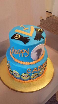 Despicable Me!  Cake!