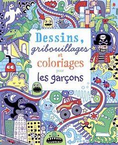 """Les éditions Usborne présentent de belles collections de livres de coloriage : ♦ """"Je colorie"""", pour les petits (3 à 6 ans) selon…"""