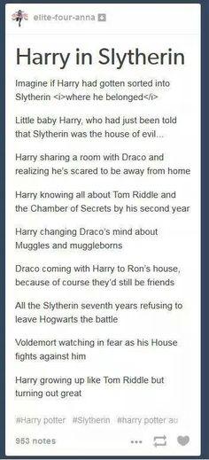 Potter and I friends? Ha.