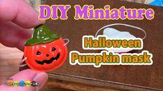 tutorial: miniature Halloween pumpkin mask