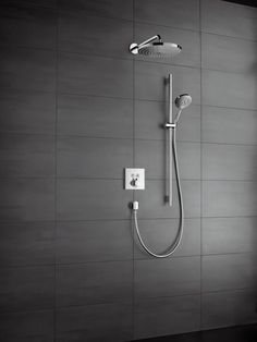 ShowerSelect - ShowerSelect thermostat for concealed installation for 2 outlets | Hansgrohe United Kingdom