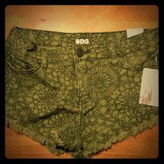 Urban Outfitters Jean Shorts Short, trendy, brand new Jean Shorts. Low Rise & Loose. Urban Outfitters Shorts Jean Shorts