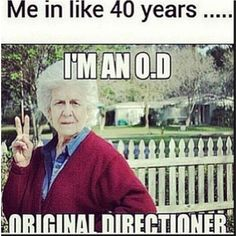 O.D for life <3 Except I won't look like that because in 40 years I'll only be 56 haha