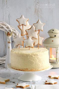 Cake Cookies, Essie, Vanilla Cake, Latte, Candle Holders, Happy Birthday, Menu, Candles, Cooking