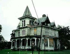 Abandoned Max Hoffman House, 1889, North Carolina.