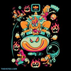 Royal Rescue By Aaron Clark, today at The Yetee!