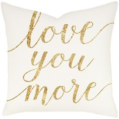 Love You More Pillow  at Joss and Main