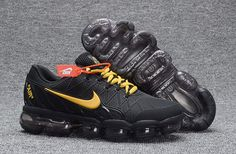 Nike Air Max 2018 Leather Black Gold Running Shoe.jpg (800×525)