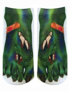 Monster Ankle Socks