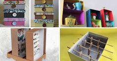 Preparamos ideias geniais para que você possa fazer todo tipo de artesanato com caixa de sapato. Venha ver ideias incríveis que vão te surpreender