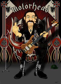 Lemmy by Zaztoons