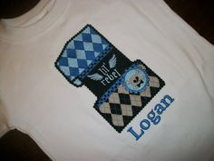 Custom boutique birthday t shirt boys LIL REBEL by IzzyBTees, $25.00