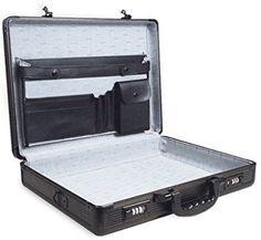 Aluminum Laptop Briefcase Black 17 Business Lock Attache Case Brief Pockets for sale online Laptop Briefcase, Business Briefcase, Work Handbag, Combination Locks, Black Tote Bag, Black Handbags, Backpack Bags, Lockers