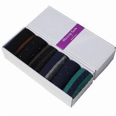 [ 29% OFF ] Newhot 100% Cotton Men's Business Socks Sports Socks 6Pairs/lot (No Gift Box)