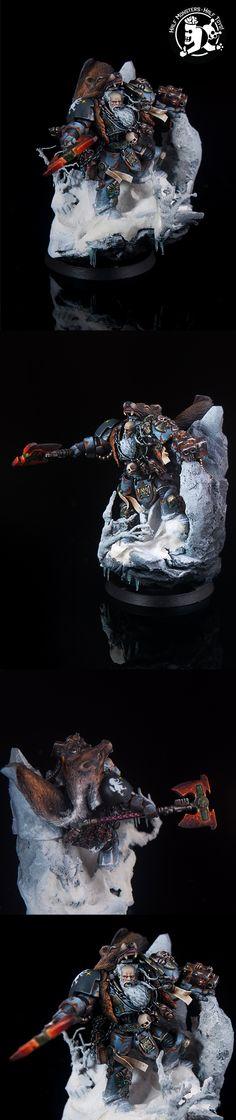Logan Grimnar Space Wolf true scale