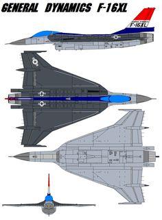 General Dynamics F-16XL by bagera3005.deviantart.com on @deviantART