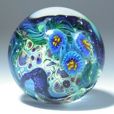 Miniature Venetian Glass Paperweight