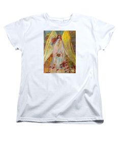 Harvest Autumn Angel Womens T-Shirt