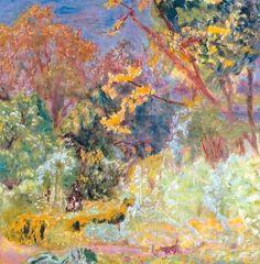 """Pierre Bonnard (Fontenay-aux-Roses, 1867 - Le Cannet, 1947) """"Au jardin"""" ?, Huile sur toile, H. ? cm ; L. ? cm.   ? © ?"""