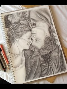 I wish I was the type of person that could draw something this magnificent...The fault in our stars