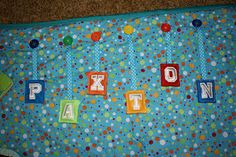 Drastic Fantastic: FINISHED!! Tummy Time Mat.