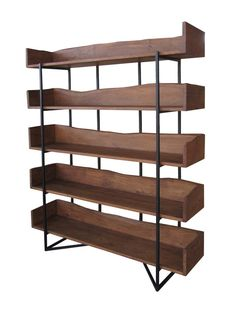 5-Tier Bookcase from Bookcase Style: Decor & More on Gilt