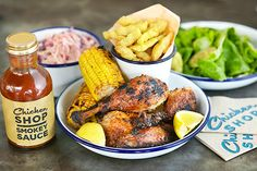 15 Ways To Enjoy London In May #refinery29  http://www.refinery29.com/things-to-do-in-london#slide13  Chicken Shop & Dirty Burger Come To Whitechapel  East Londoners, take note: Chicken Shop and Dirty Burger are coming to Whitechapel. The Soho House Group-owned franchises are joining forces for the first time ever to give lovers of supremely tasty fast food even more delicious options. If rotisserie chicken and avocado salad are calling your name, we suggest you make a note in your diary ...