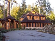 Traditional mountain home...