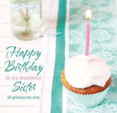 Happy Birthday Sister Cards http://www.all-greatquotes.com/