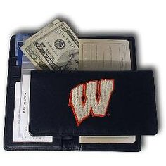 Wisconsin Badgers NCAA Checkbook from Rico