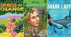 Women Saving The Planet: 20 Kids' Books About Female Environmentalists: A Mighty Girl's top picks of books for children about trailblazing female environmentalists of the past and present. Mighty Girl Books, Love The Earth, Environmental Education, Environmentalist, Save The Planet, True Stories, Childrens Books, Literacy, Shark