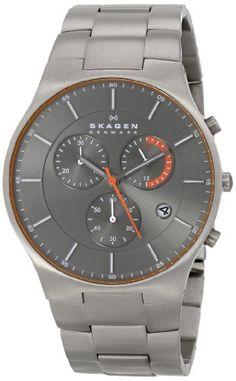 kein Solar, kein Funk  Skagen Men's SKW6076 Balder Quartz/Chronograph Titanium Gray Watch Skagen http://www.amazon.com/dp/B00FWXAI3Y/ref=cm_sw_r_pi_dp_PPm3tb121V18AZAV